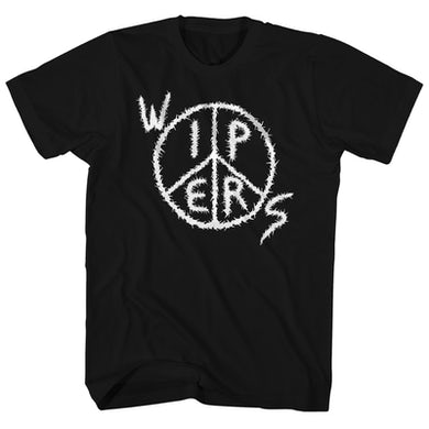 Wipers T-Shirt | Peace Sign Circle Logo Wipers Shirt