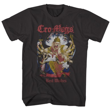 Cro-Mags T-Shirt | Best Wishes Album Art Cro-Mags Shirt