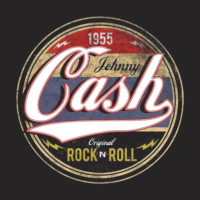 Johnny Cash T-Shirt   Original Rock *N* Roll 1955 Johnny Cash Shirt