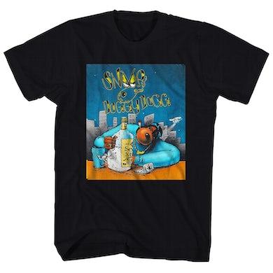 Snoop Dogg T-Shirt | Gin And Juice Cartoon Snoop Dogg Shirt
