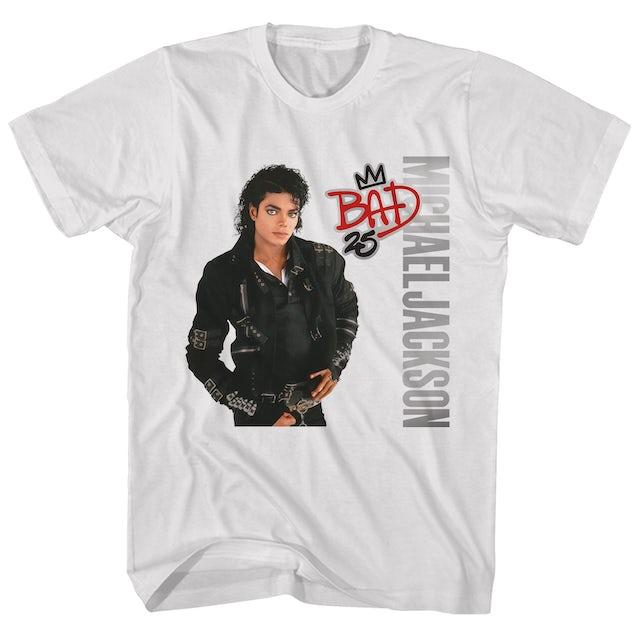 Michael Jackson T-Shirt | Bad Album Art Michael Jackson Shirt