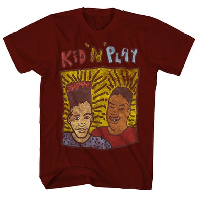 Kid N Play Kid 'n Play T-Shirt | '80s Inspired Distressed Kid 'n Play Shirt