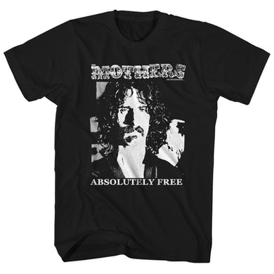 Frank Zappa T-Shirt | The Mothers Of Invention Absolutely Free Album Art Frank Zappa Shirt