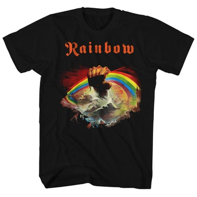 Rainbow T-Shirt | Rising Album Art Rainbow Shirt