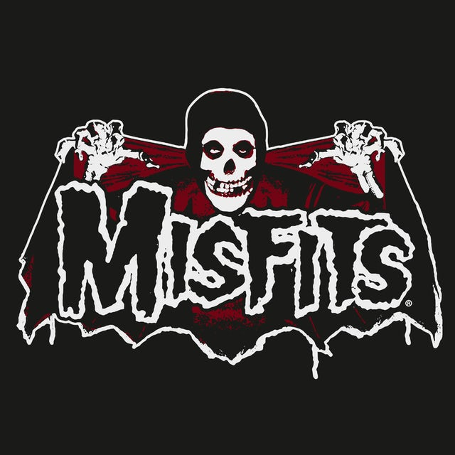 The Misfits T-Shirt | Batfiend Skull And Wings Logo The Misfits Shirt