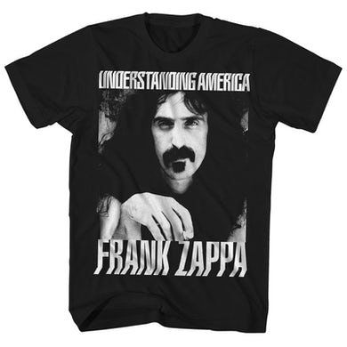 T-Shirt | Understanding America Album Cover Frank Zappa T-Shirt