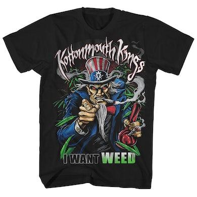 Kottonmouth Kings T-Shirt | Patriotic I Want Weed Kottonmouth Kings Shirt