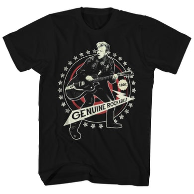 Stray Cats T-Shirt | Brian Setzer 100% Genuine Rockabilly Stray Cats Shirt