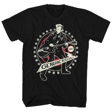 Stray Cats T-Shirt | Brian Setzer 100% Genuine Rockabilly Stray Cats Shirt