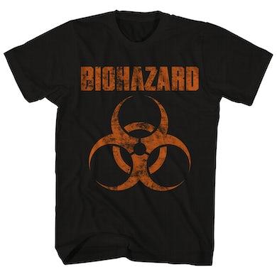 Biohazard T-Shirt | Distressed Logo Biohazard Shirt