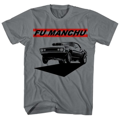 T-Shirt | Muscle Car Fu Manchu Shirt