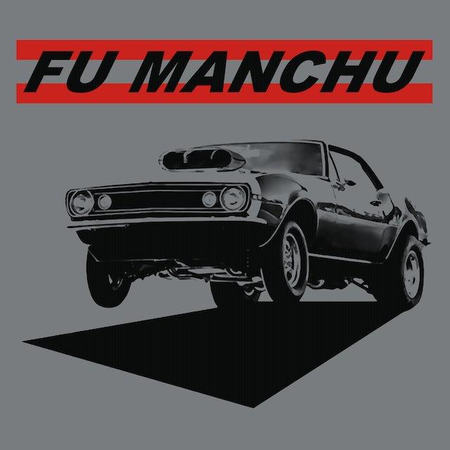 Fu Manchu T-Shirt   Muscle Car Fu Manchu Shirt