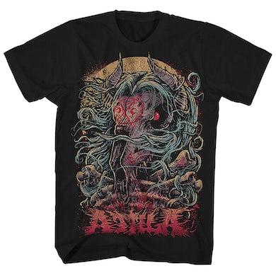 Attila T-Shirt | Goat Skull & Bones Attila Shirt