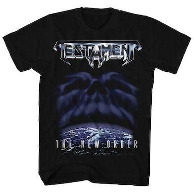 Testament T-Shirt | The New Order Album Art Testament Shirt
