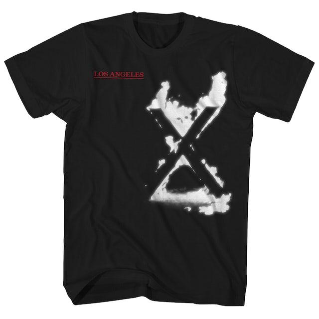 X T-Shirt | Los Angeles Flaming X Shirt