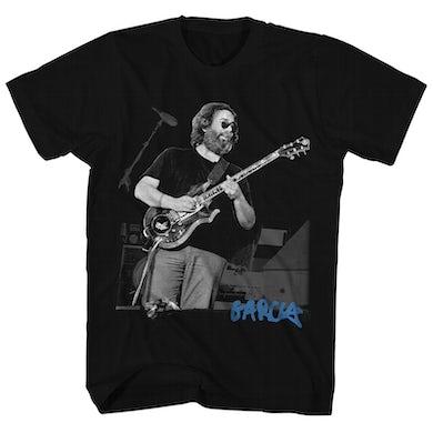 Jerry Garcia T-Shirt | Live Portrait Black & White Photo Jerry Garcia Shirt