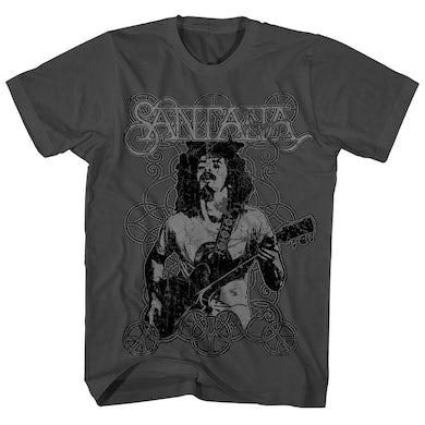 Santana T-Shirt | Vintage Peace Signs Carlos Santana Shirt