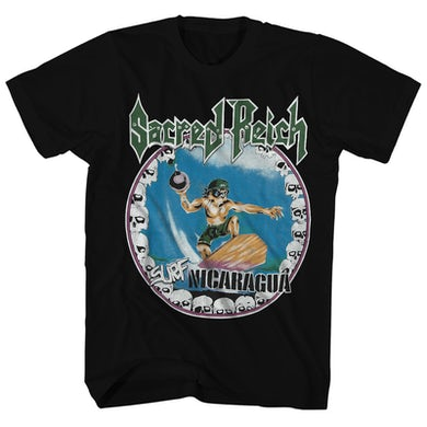 T-Shirt | Nicaragua Surfer Sacred Reich Shirt