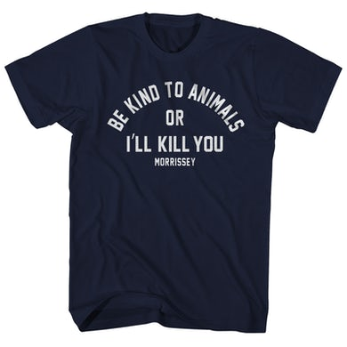Morrissey T-Shirt | Be Kind To Animals Morrissey Shirt