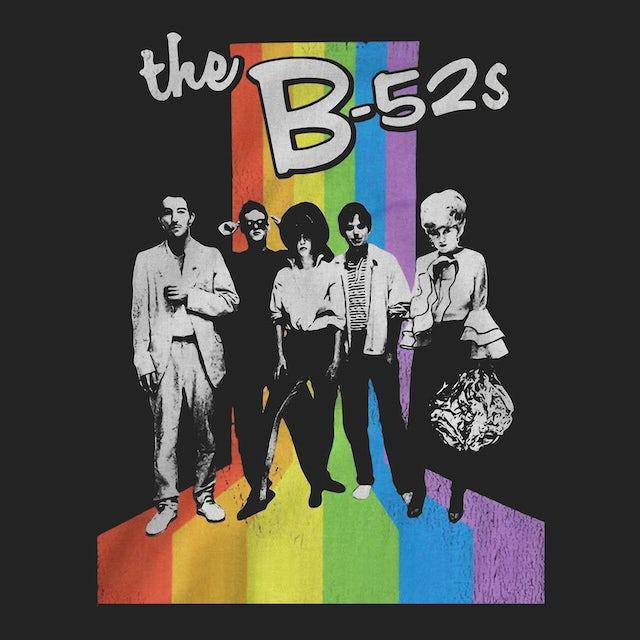 The B-52's T-Shirt | Retro Rainbow The B-52's Shirt