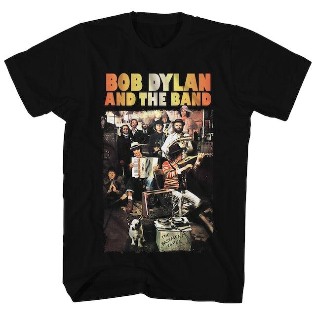 Bob Dylan T-Shirt | The Basement Tapes Album Art Bob Dylan Shirt