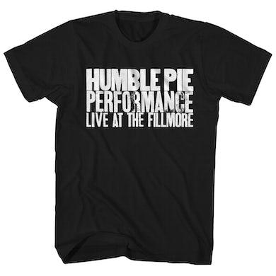 Humble Pie T-Shirt | Live At The Fillmore Humble Pie Shirt