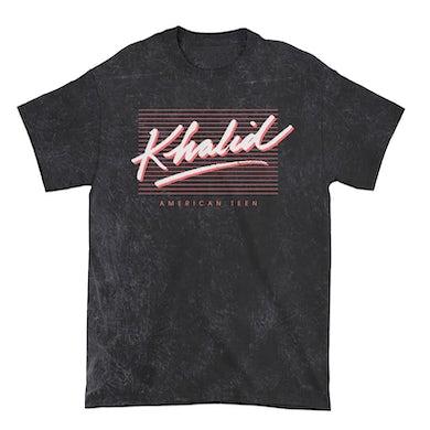 Khalid T-Shirt | American Teen Limited Edition Mineral Washed Khalid Shirt