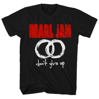 Pearl Jam T-Shirt | Don't Give Up Overlapping Circles Band Logo Pearl Jam Shirt