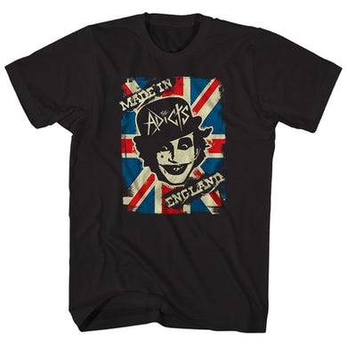 T-Shirt | Made In England Album Art The Adicts Shirt