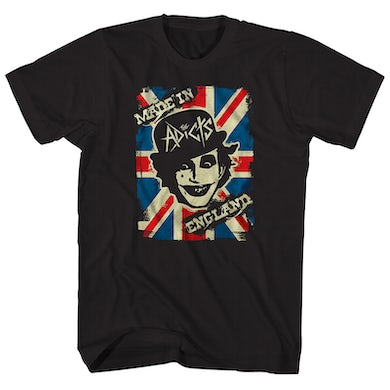 The Adicts T-Shirt | Made In England Album Art The Adicts Shirt