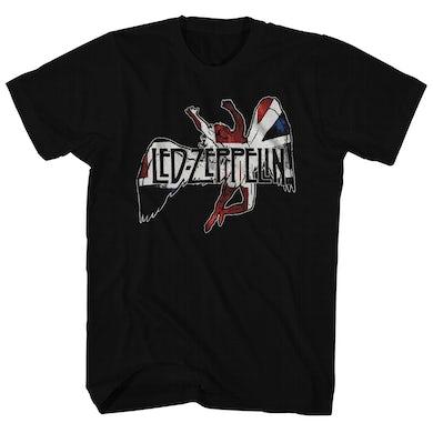 Led Zeppelin T-Shirt | Icarus Flag Logo Led Zeppelin Shirt
