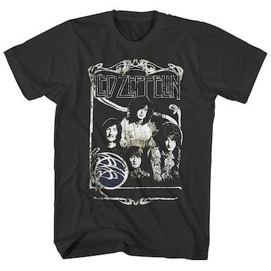 T-Shirt | 1969 Band Promo Group Photo Led Zeppelin Shirt