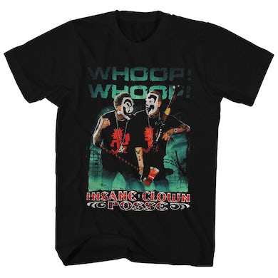 T-Shirt | Whoop! Whoop! Insane Clown Posse Shirt