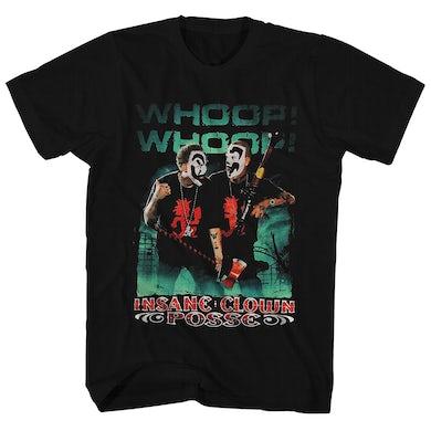 Insane Clown Posse T-Shirt | Whoop! Whoop! Insane Clown Posse Shirt