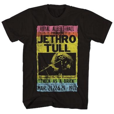 Jethro Tull T-Shirt | Royal Albert Hall (1972) Jethro Tull Shirt