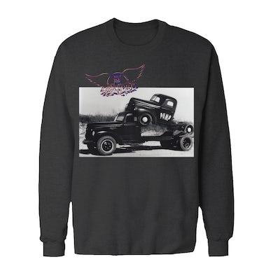 Aerosmith Long Sleeve Shirt | Vintage Truck Photo Aerosmith Long Sleeve Shirt