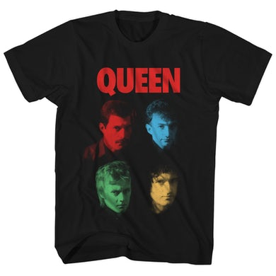 Queen T-Shirt | Hot Space Album Art Queen Shirt