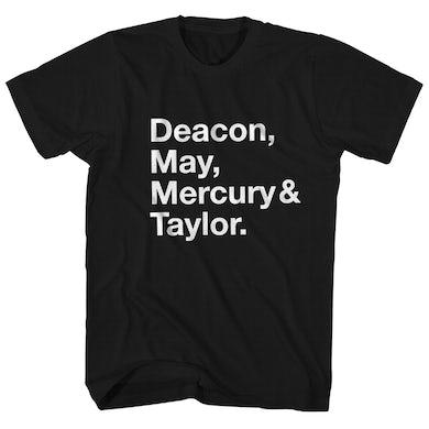 Queen T-Shirt | Deacon May Mercury & Taylor Queen Shirt