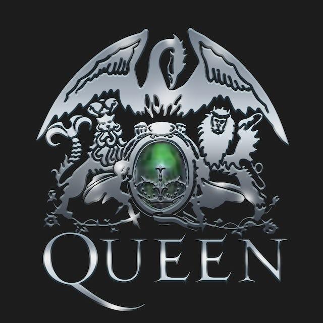 Queen T-Shirt | Metal Crest Logo Queen Shirt
