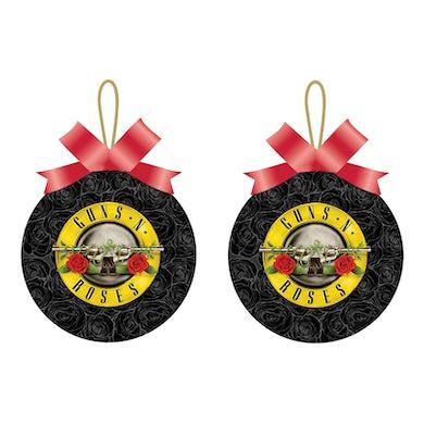 Guns N' Roses Holiday Ornament | Logo Art Guns N' Roses Christmas Ornament