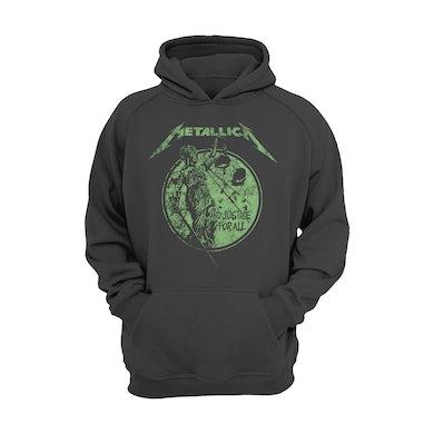 Metallica Hoodie | Justice For All Neon Metallica Hoodie