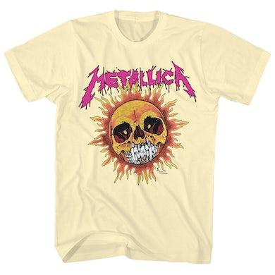 Metallica T-Shirt | Fire Sun Metallica Shirt