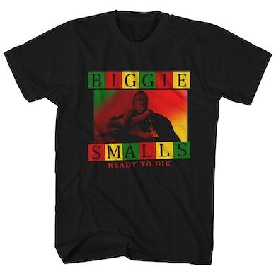 The Notorious B.I.G. T-Shirt | Rasta Biggie Smalls Ready To Die The Notorious B.I.G. Shirt