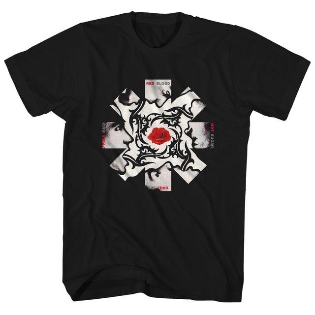 Red Hot Chili Peppers T-Shirt | Blood Sugar Sex Magik Album Art Asterisk Red Hot Chili Peppers Shirt