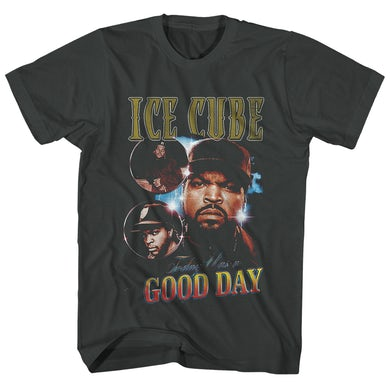Ice Cube T-Shirt | Today Was A Good Day Photo Collage Ice Cube Shirt