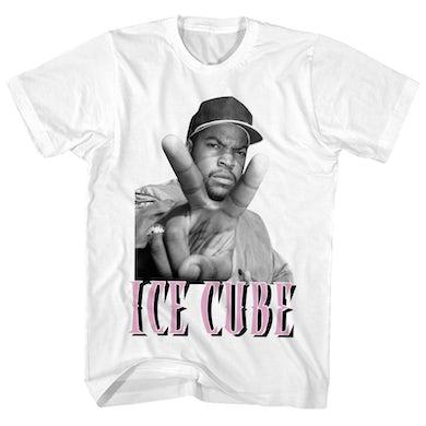 Ice Cube T-Shirt | Peace Sign Ice Cube Shirt