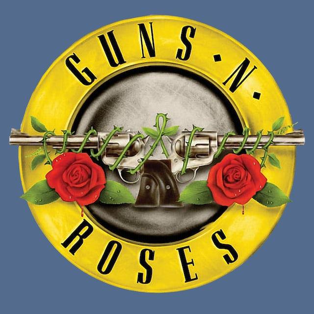 Guns N' Roses Women's Tank Top   Classic Logo Cloud Wash Guns N' Roses Tank Top