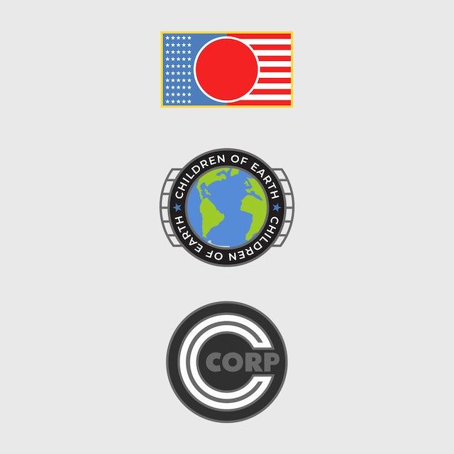 Logic Hoodie   Space Patch NASA-Inspired Logo Logic Hoodie