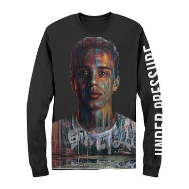 Painted Face Under Pressure Long Sleeve Shirt