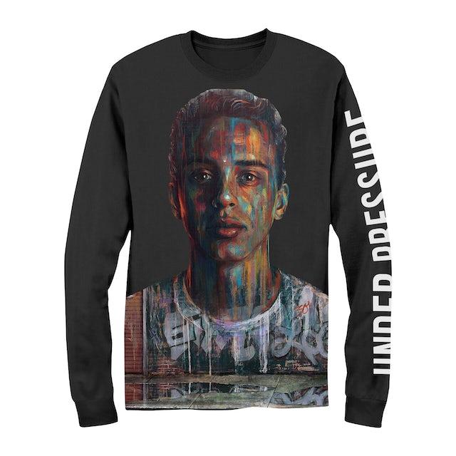 Logic Long Sleeve Shirt | Painted Face Under Pressure Logic Long Sleeve Shirt
